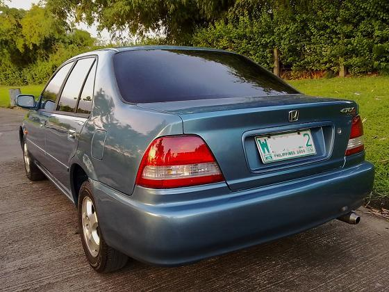 Honda City 2003 Exterior Rear End