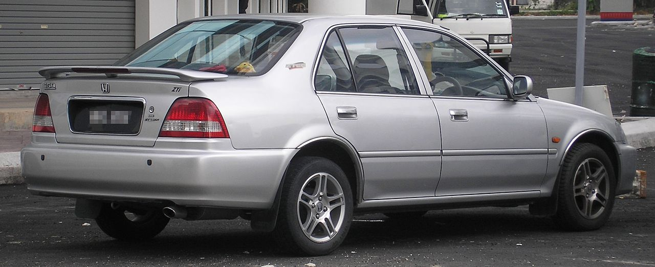 Honda City 2003 Exterior Rear Side View