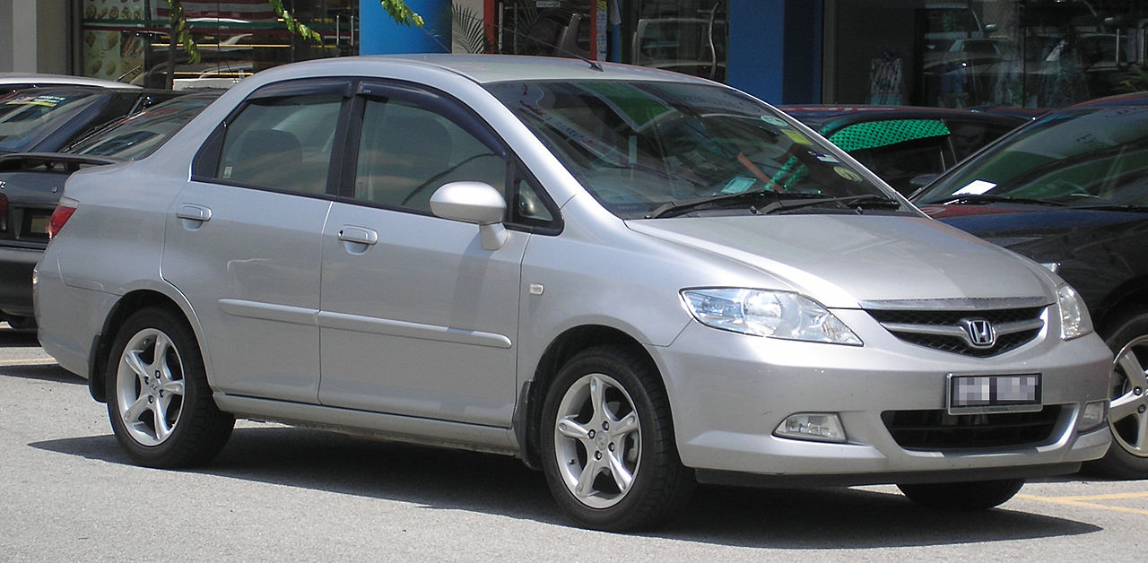 Honda City 2008 Exterior Front Side View