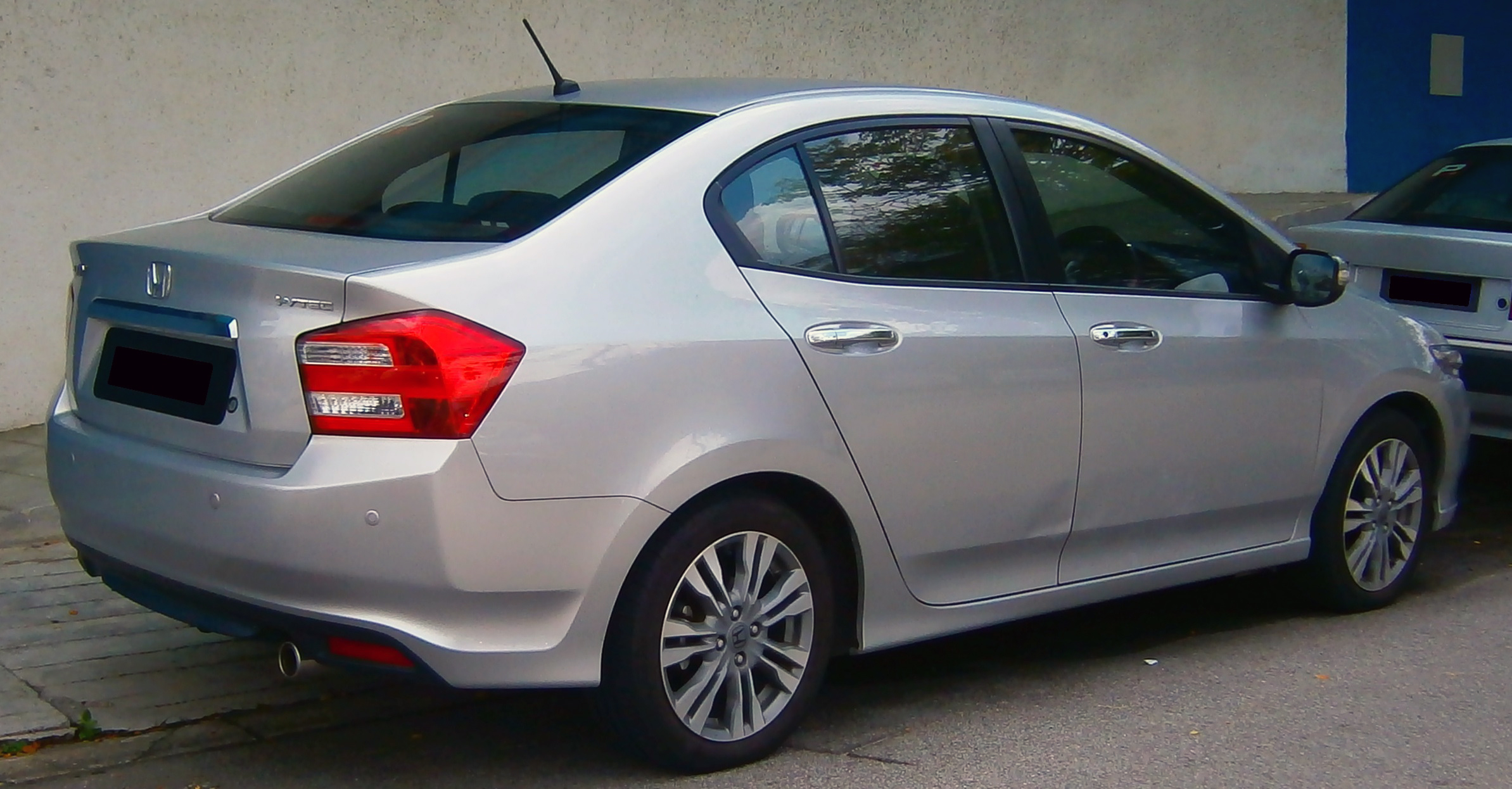 Honda City 2009 Exterior Rear Side View