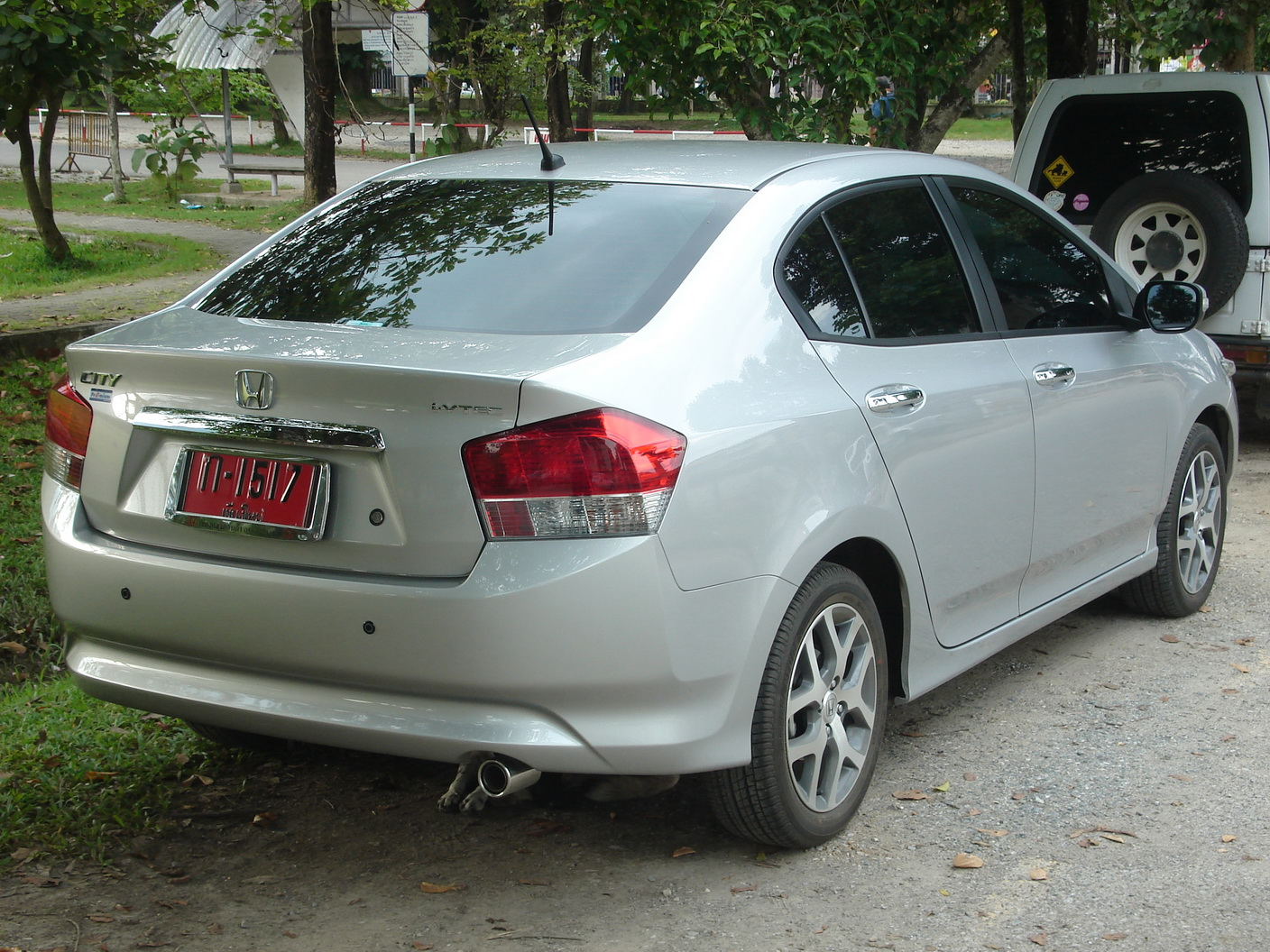 Honda City 2020 Exterior Rear End