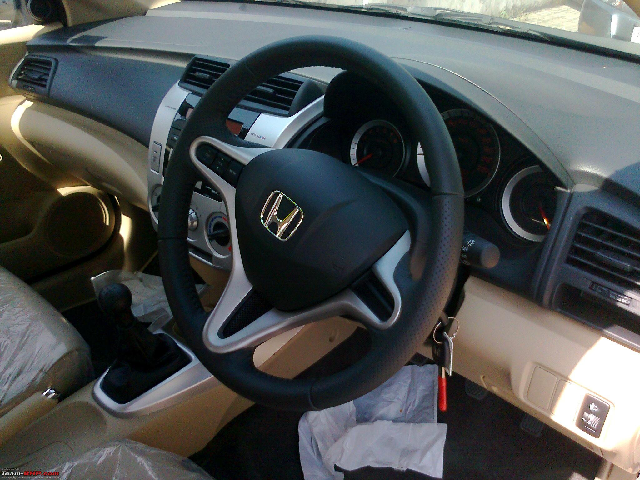 Honda City 2009 Interior Steering Wheel