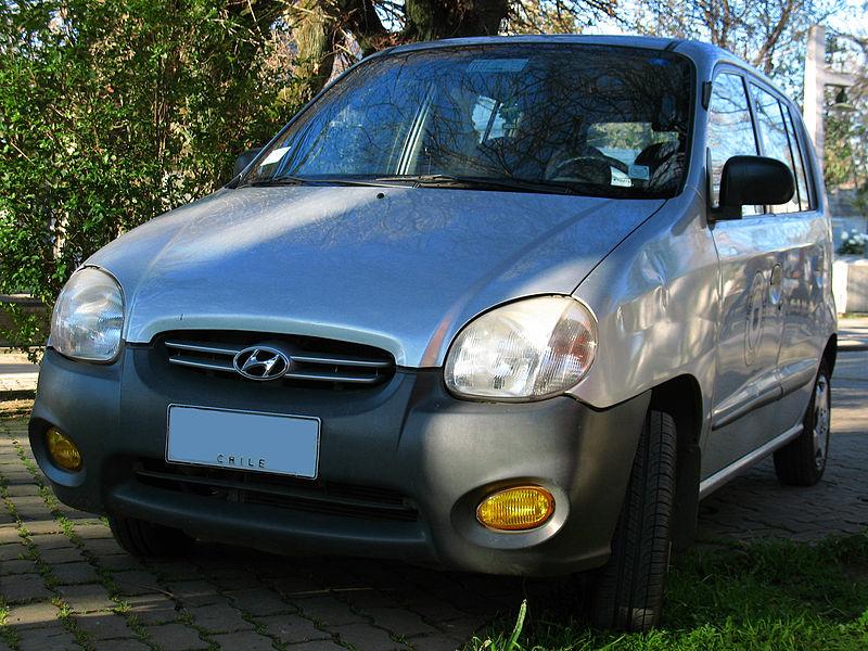 Hyundai Santro 2003 Exterior Front View