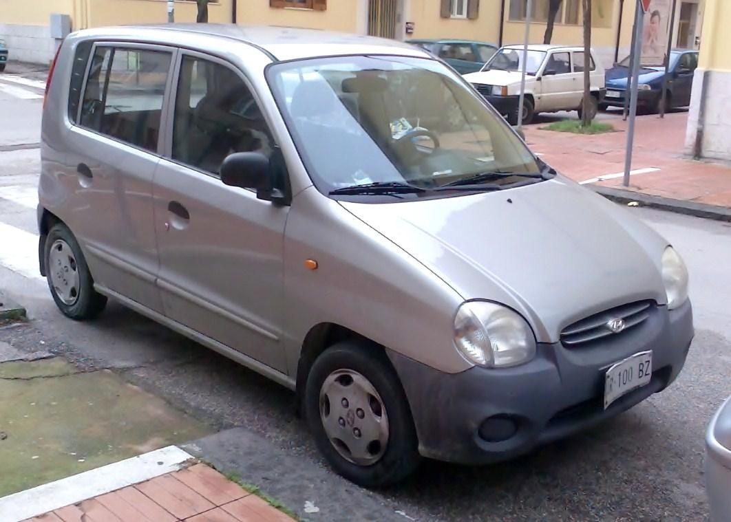 Hyundai Santro 2003 Exterior Front Side View