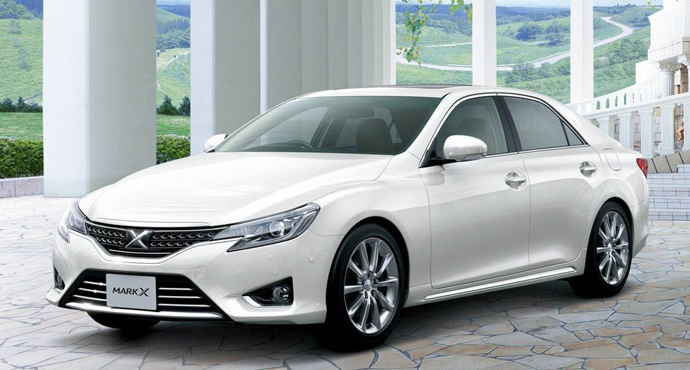 Toyota Mark X  Exterior Front View