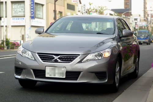 Toyota Mark X  Exterior Front End