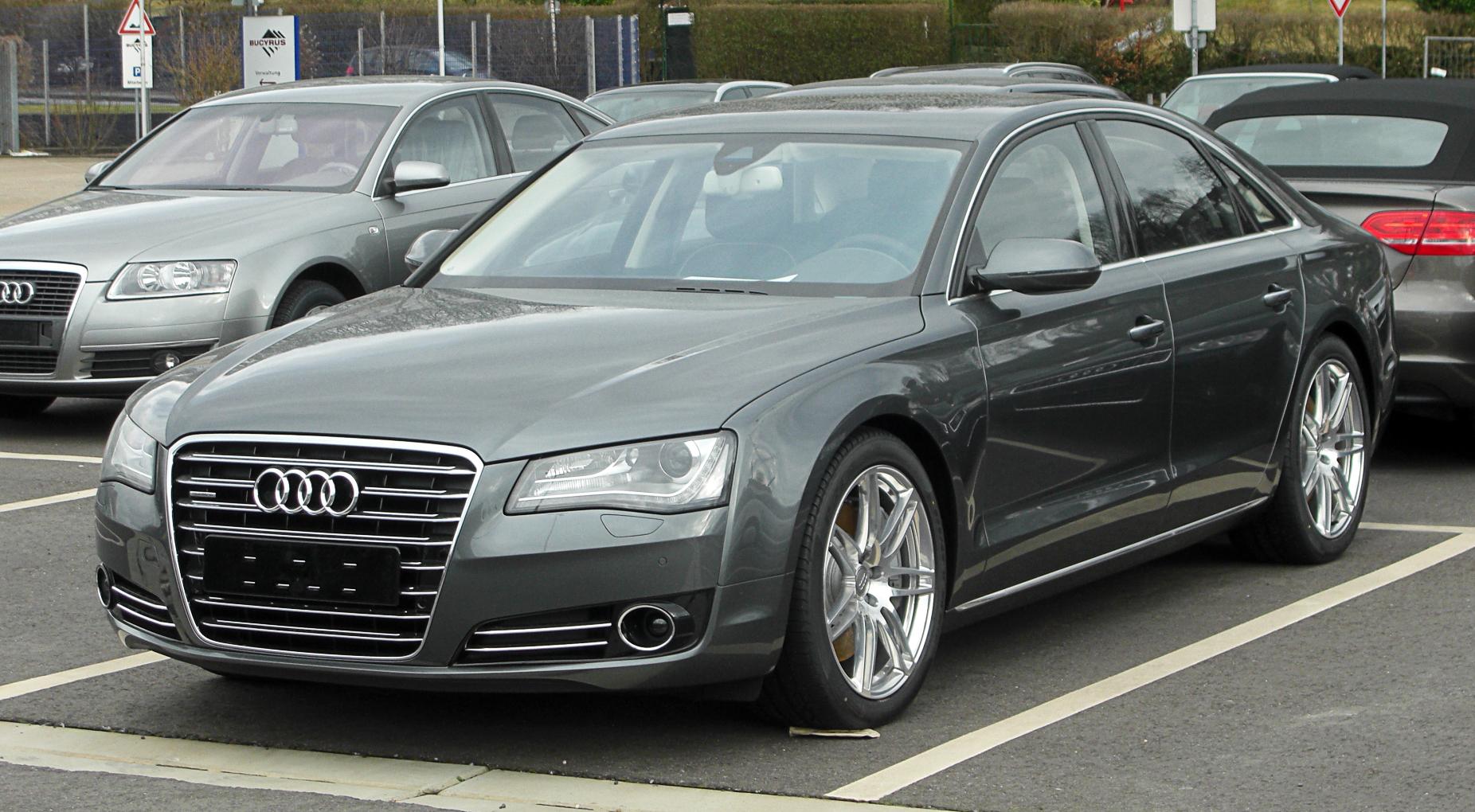 Audi A8  Exterior Front End