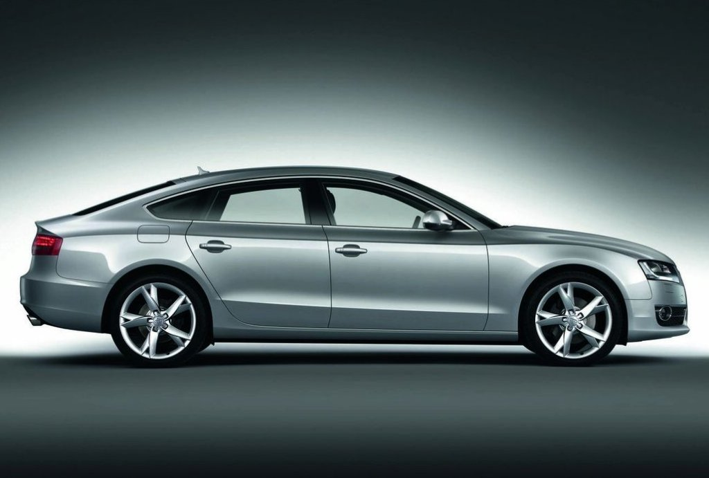 Audi A5 2016 Exterior Side View