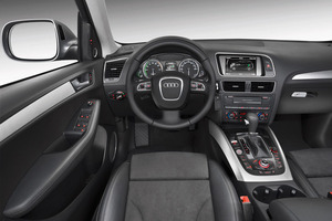 Audi Q5 2017 Interior Dashboards