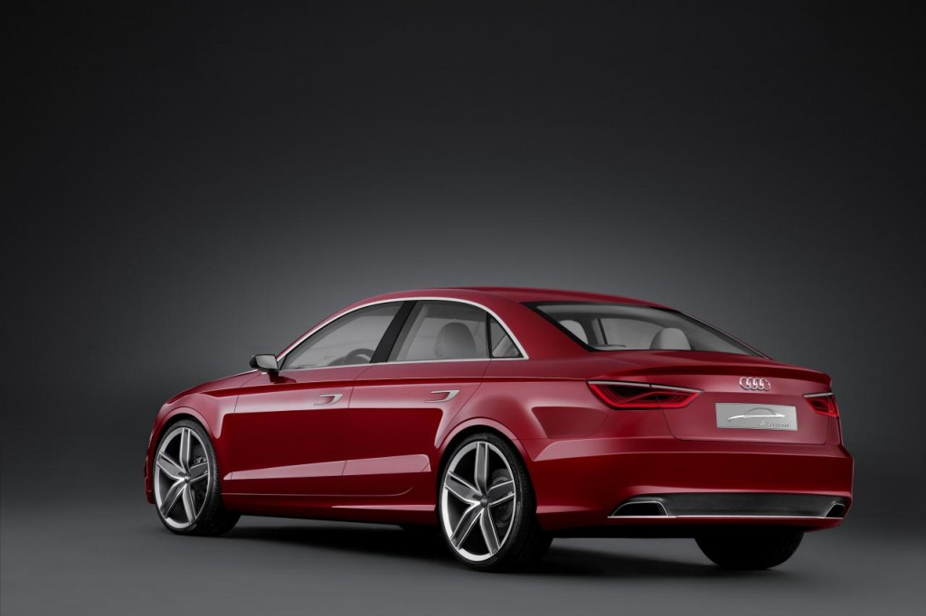 Audi A3 2020 Exterior Rear Side View