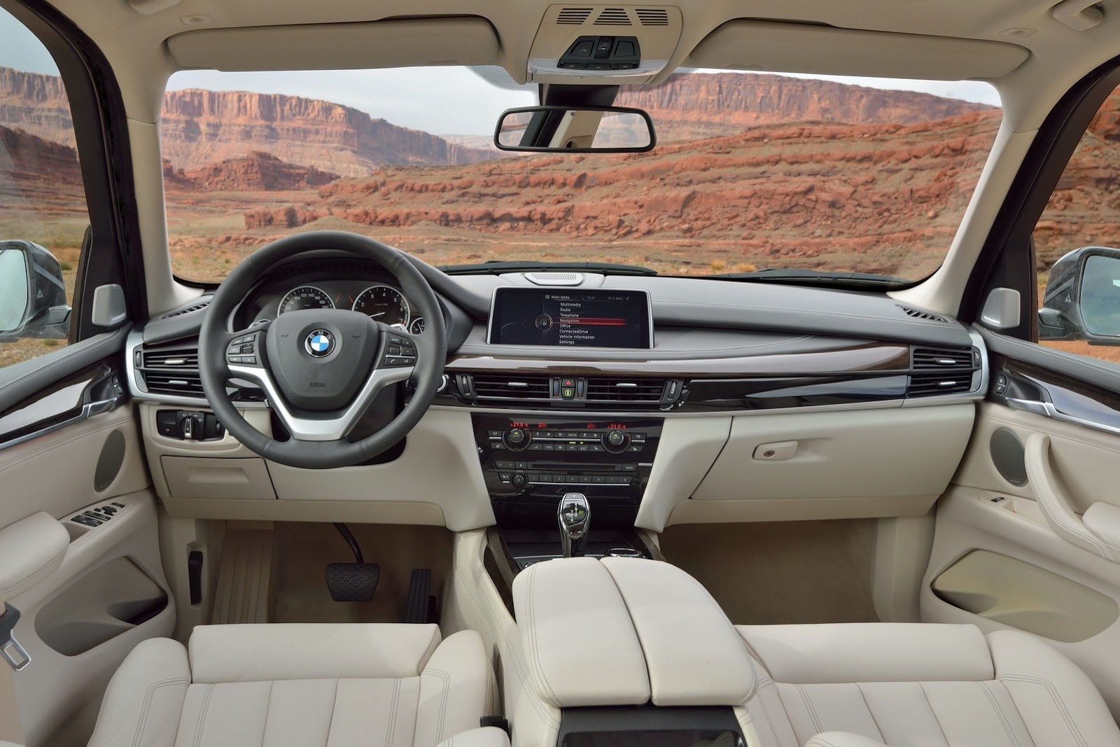 BMW X5 Series  Interior Dashboard