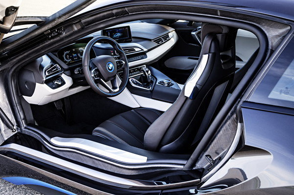 BMW i8  Interior Cabin