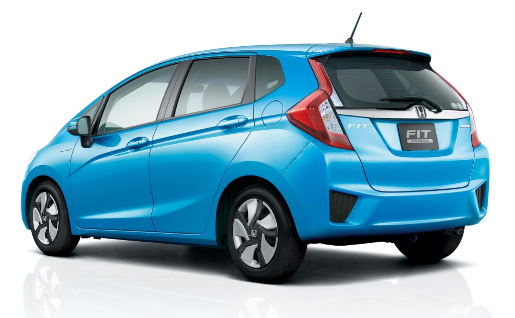 Honda Fit  Exterior Rear End