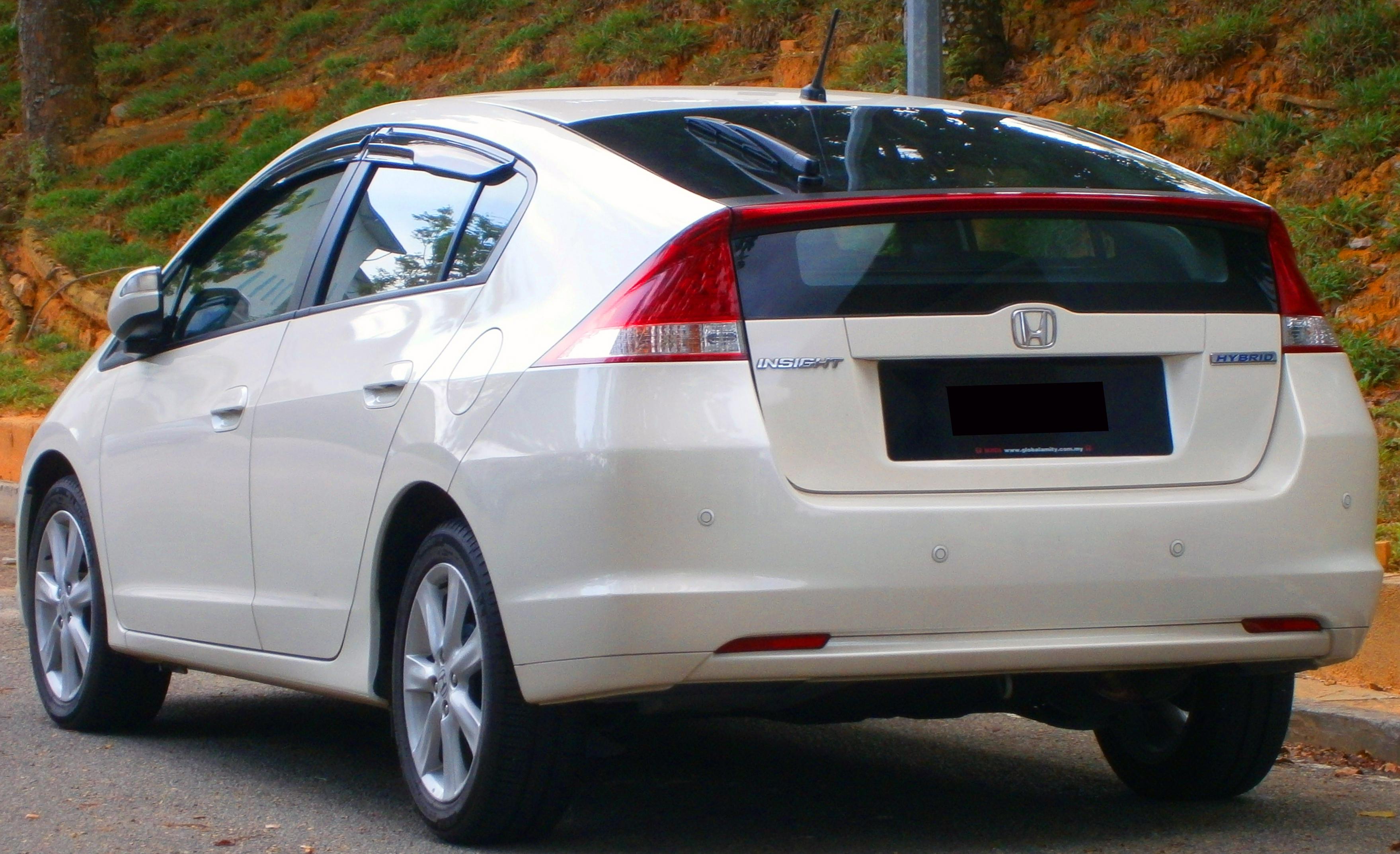 Honda Insight 2014 Exterior Rear End