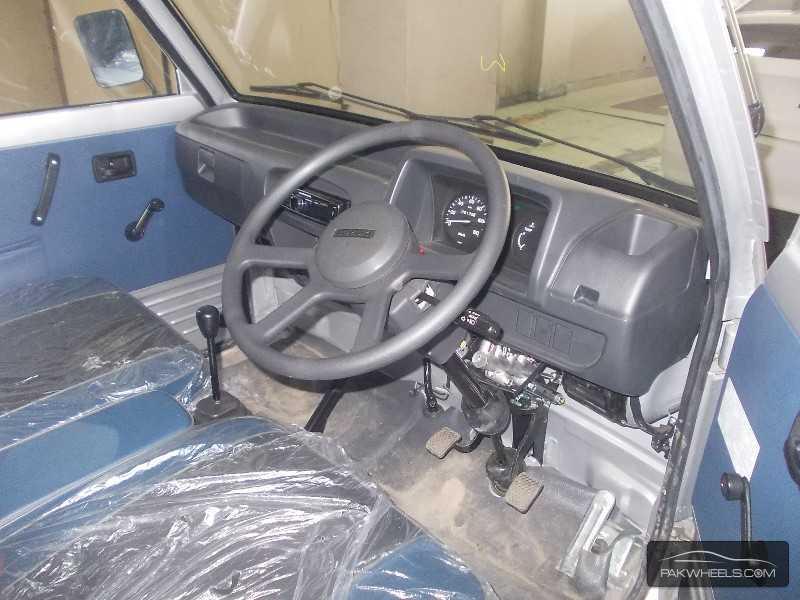 Suzuki Bolan 2012 Interior Dashboard