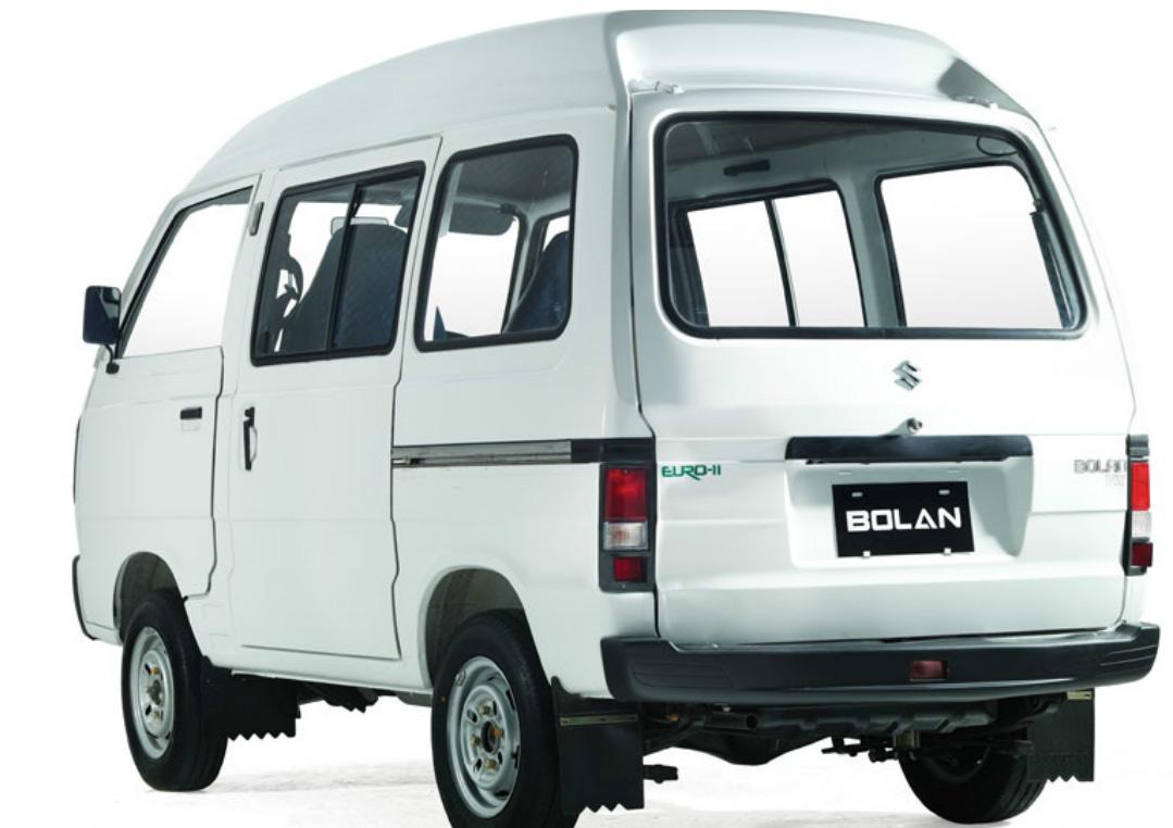 Suzuki Bolan 2012 Exterior Rear View