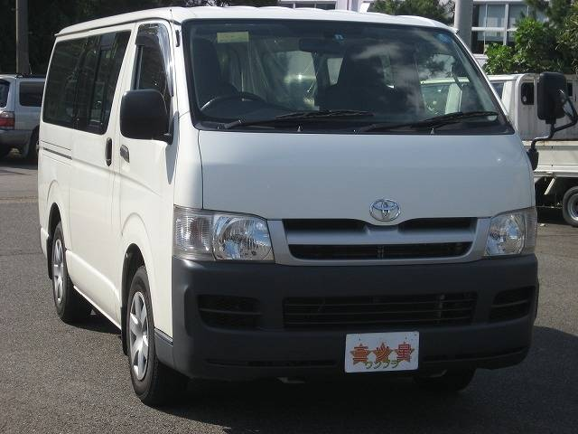 Toyota Hiace 2018 Exterior Front End