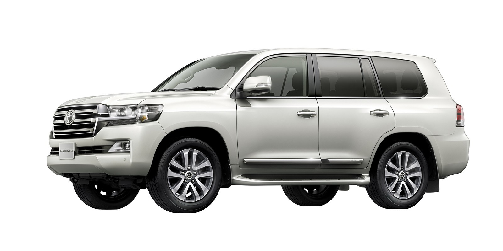 Toyota Land Cruiser 2020 Exterior Side View