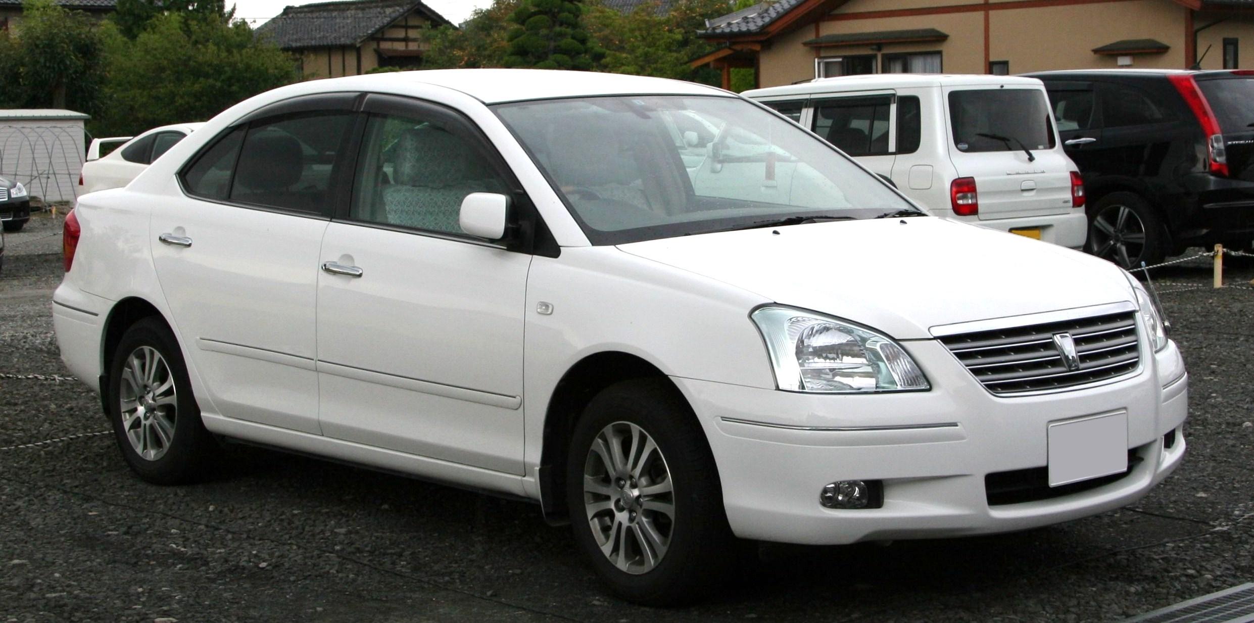 Toyota Premio 2007 Exterior Side View