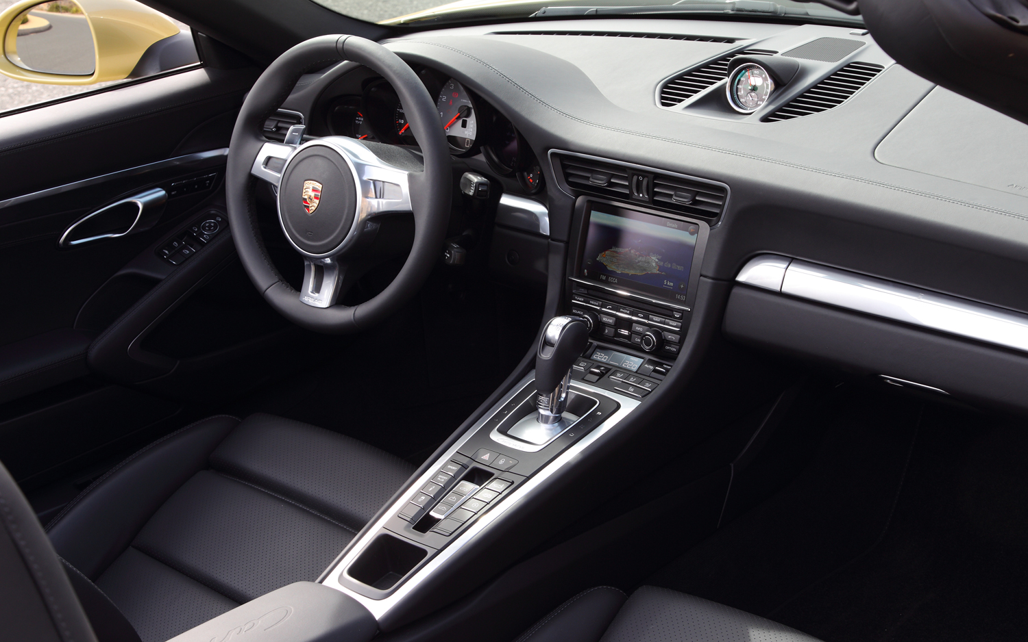 Porsche 911 2018 Interior Dashboard