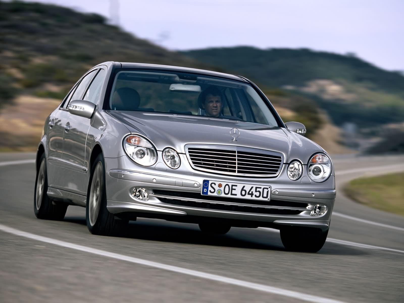 Mercedes Benz E Class Exterior Front End
