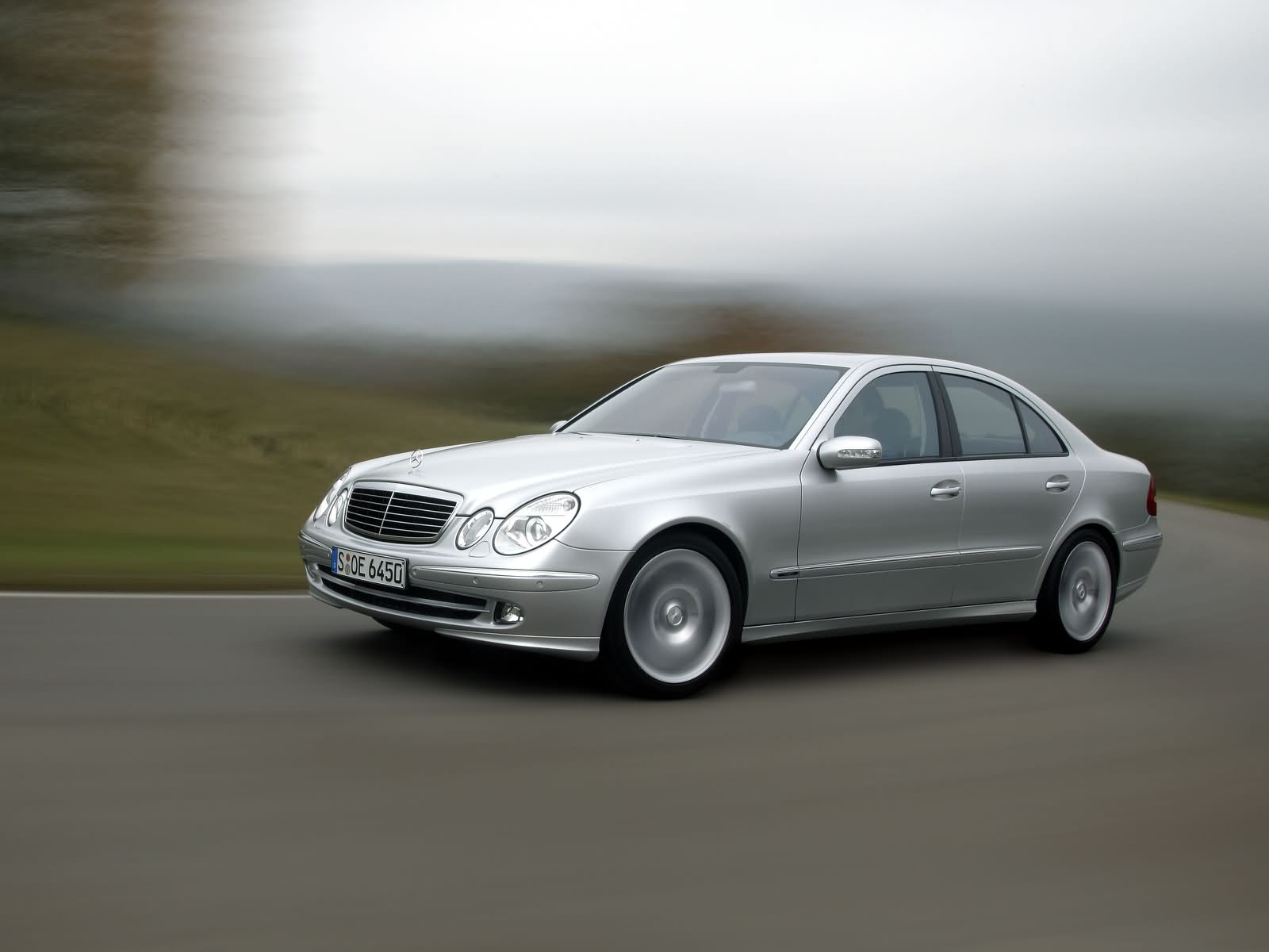 Mercedes Benz E Class 2009 Exterior Side View