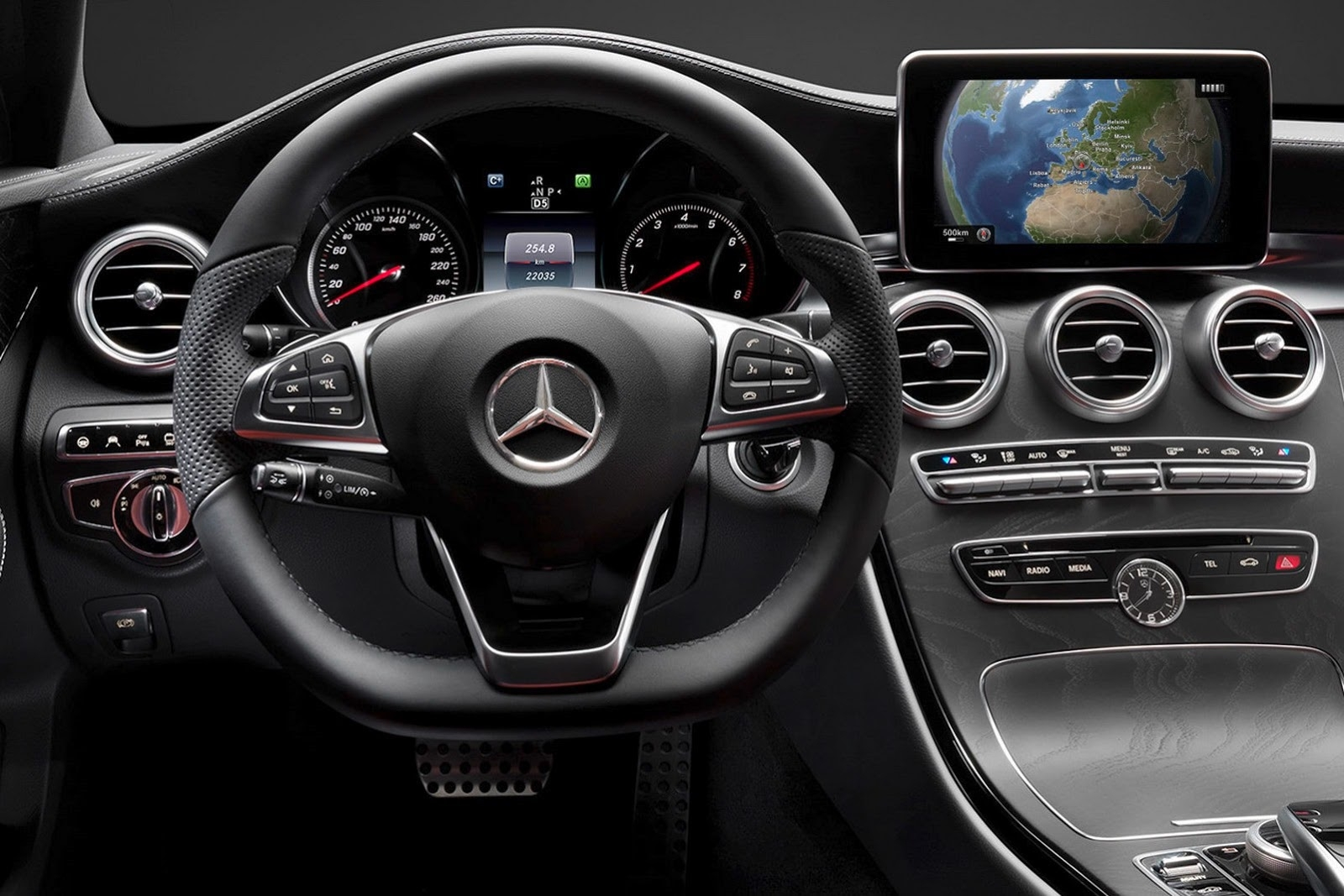 mercedes benz c class 2014 interior dashboard - Mercedes Suv Interior 2014