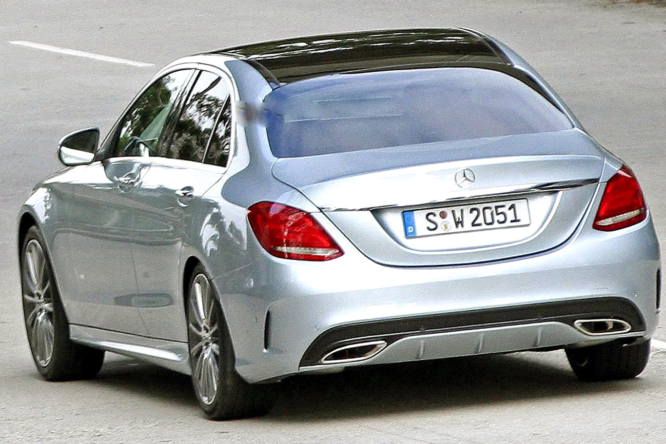 Mercedes Benz C Class 2020 Exterior Rear End