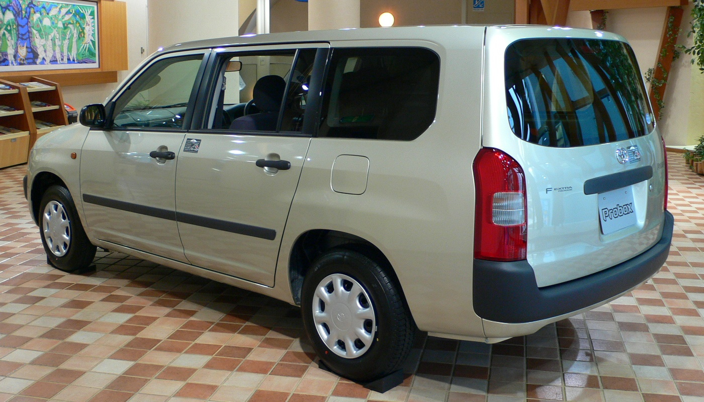 Toyota Probox  Exterior Rear Side View
