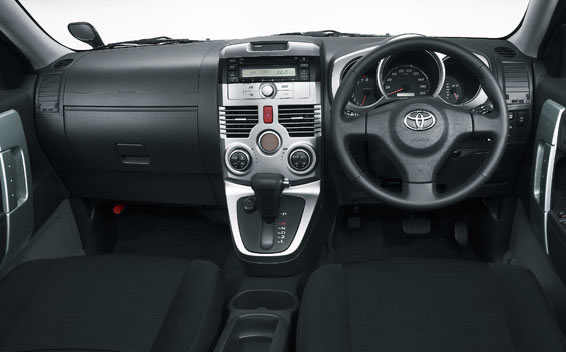 Toyota Rush  Interior Dashboard
