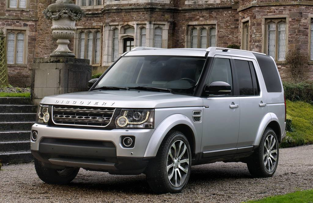 Land Rover Discovery 4  Exterior Front Side View
