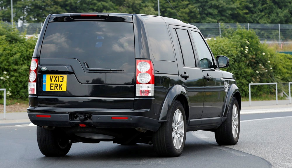 Land Rover Discovery 4  Exterior Rear End