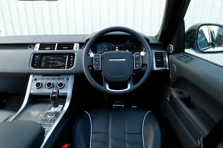 Range Rover Sport  Interior Dashboard