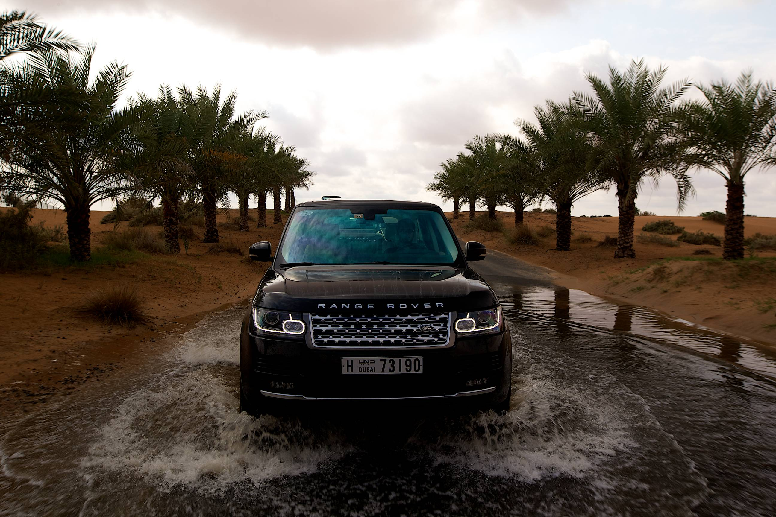 Range Rover Vogue  Exterior Front End