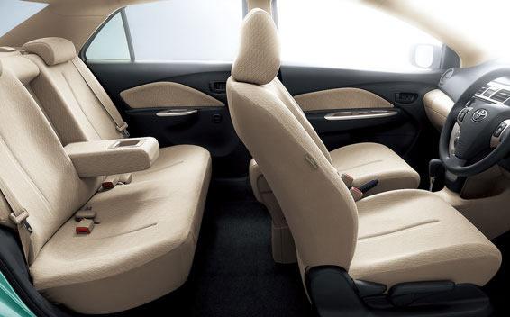 Toyota Belta 2012 Interior Cabin
