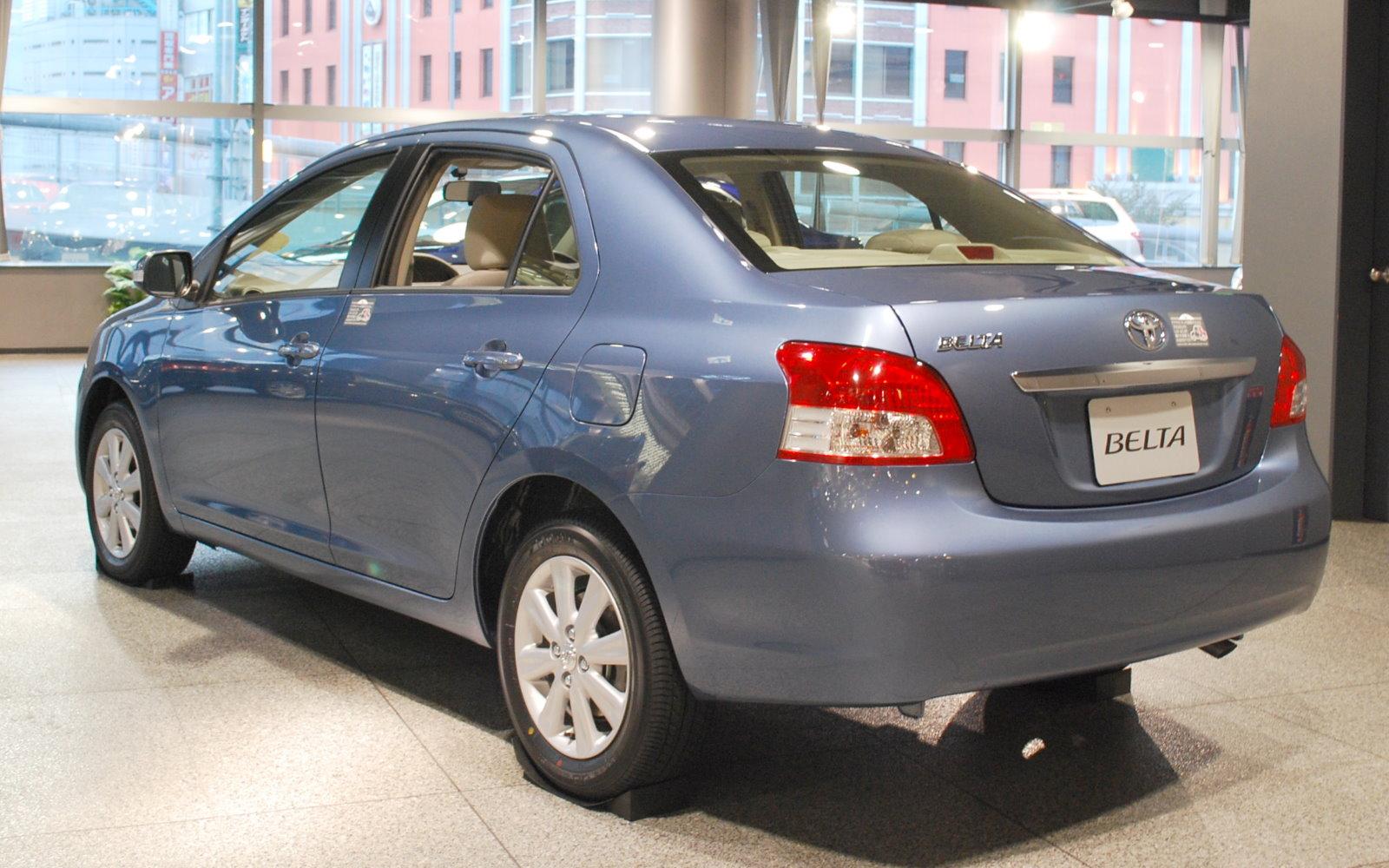 Toyota Belta 2012 Exterior Rear View