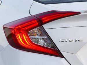 Honda Civic 2016 Exterior Rear Lightss