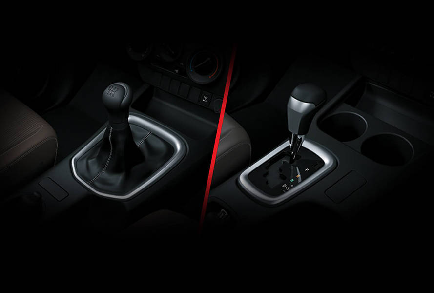 Toyota Hilux 2020 Interior Sequential Transmission