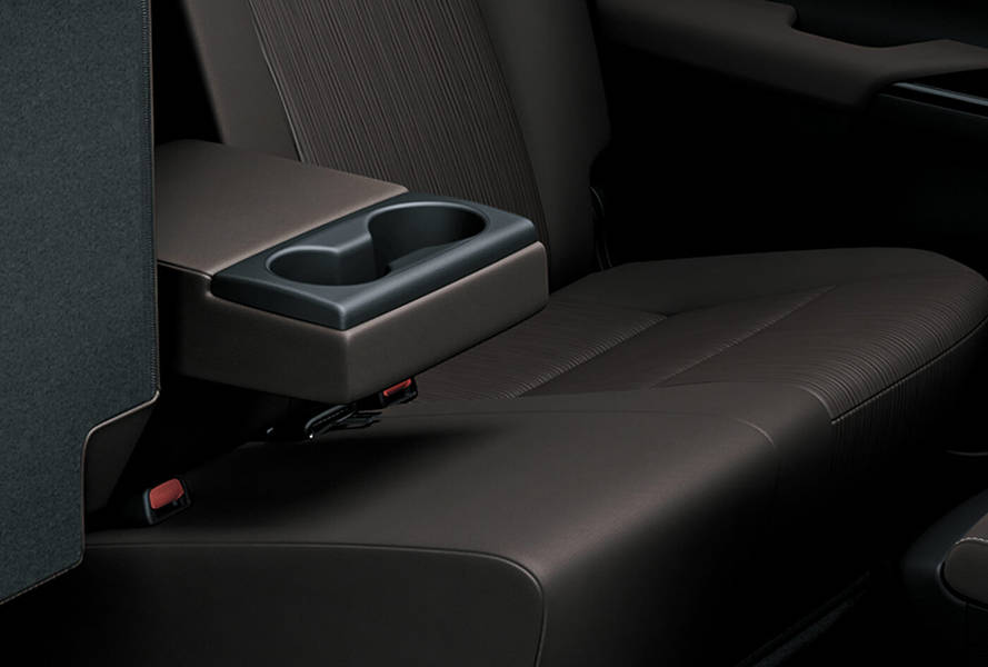 Toyota Hilux 2019 Interior Rear Arm rest