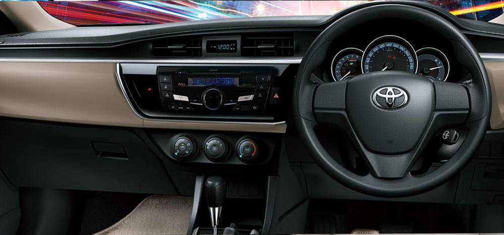Toyota Corolla 2018 Interior Dashboard