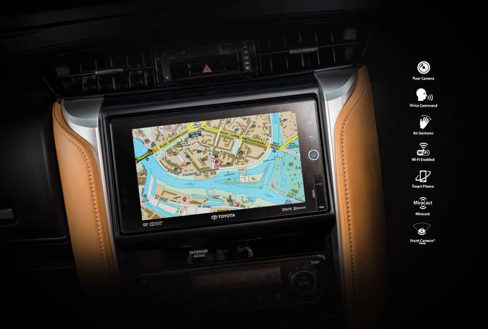 Toyota Fortuner 2018 Interior Navigation