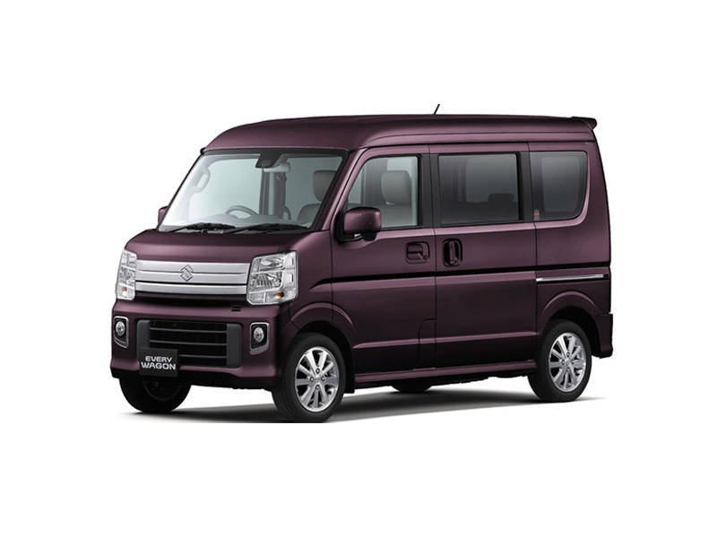 Suzuki Every Wagon 2014  Cover