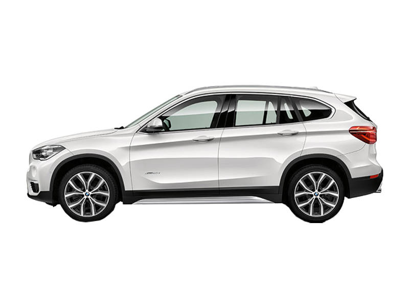 BMW X1 2019  Side View