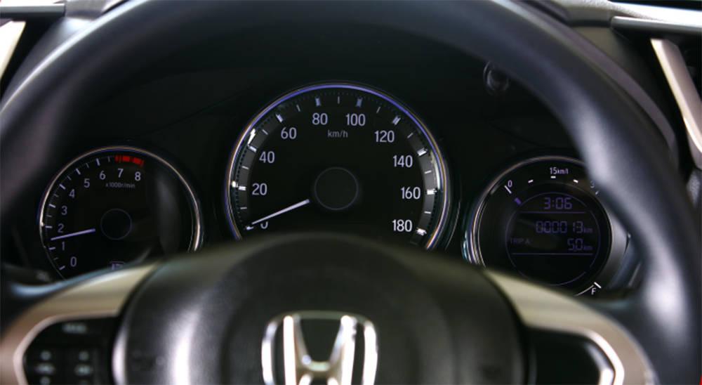 Honda BR-V 2018 Interior Speedometer