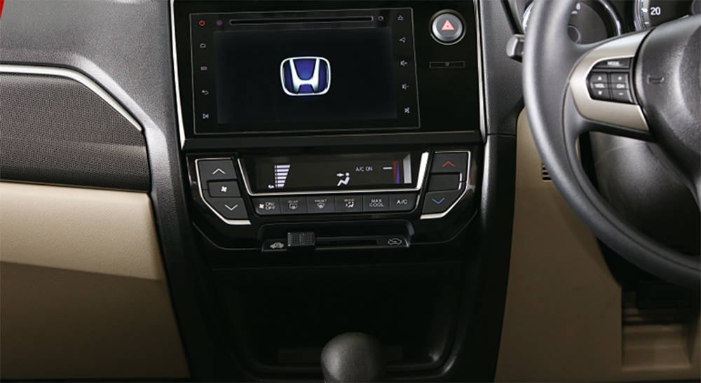 Honda BR-V 2019 Interior Digital Air conditioning