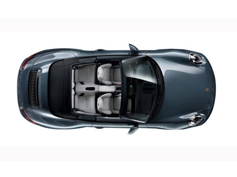 Porsche 911 2018 Exterior Top View