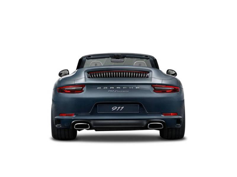 Porsche 911 2019 Exterior Rear View