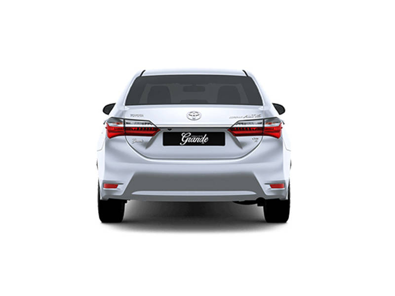 Toyota Corolla 2019 Exterior Rear view (Facelift)