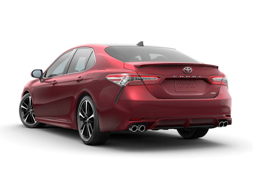 Toyota Camry 2020 Exterior Rear View
