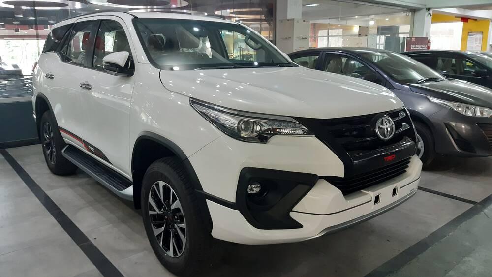 Toyota Fortuner 2020 Exterior